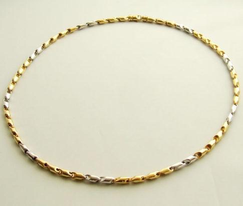 gouden-bi-color-collier