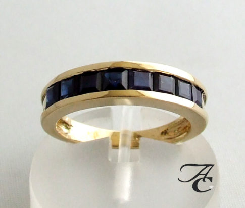 Atelier Christian ring met saffier