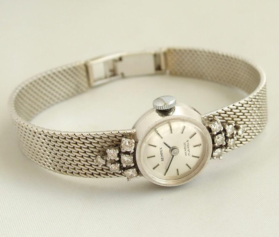 Gouden horloge met briljant atelier christian for Horloge atelier