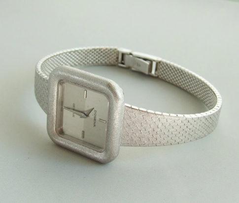 Wit gouden Dugena Geneve horloge