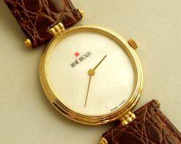 Gouden horloge Rene Becaud