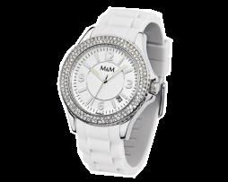 M&M Dames horloge (met of zonder zirkonia)