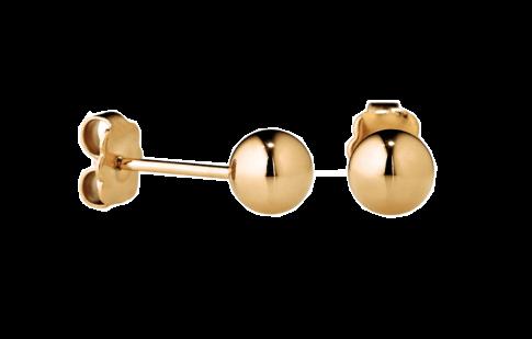 Edelstalen oorbellen (IP Gold, zilver of rosé)