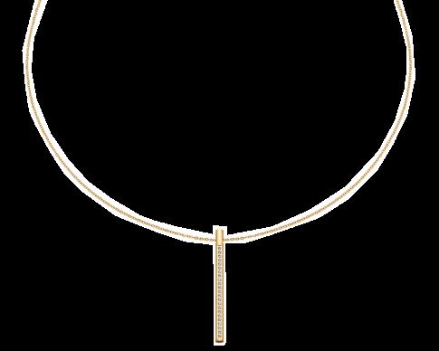 Edelstalen ketting (Gold IP of Zilver)