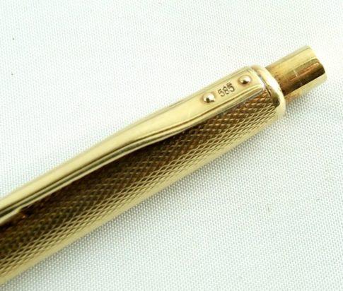 14 karaat gouden pen