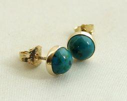 Gouden oorbellen met Eilat