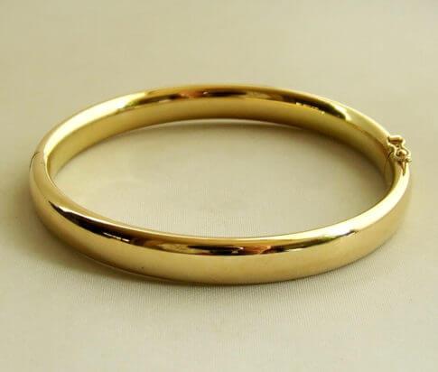 14 karaat gouden slavenarmband14 karaat gouden slavenarmband