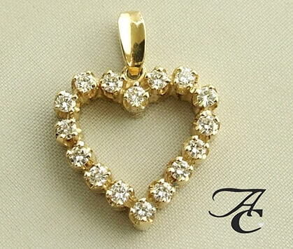 Hangers mer diamant