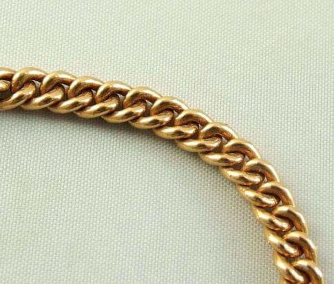 Rosé gouden armband