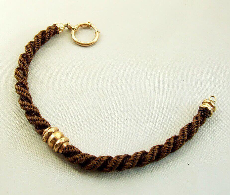 14 karaat rosé gouden armband