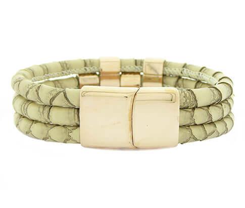 Christian Snake Green Bracelet