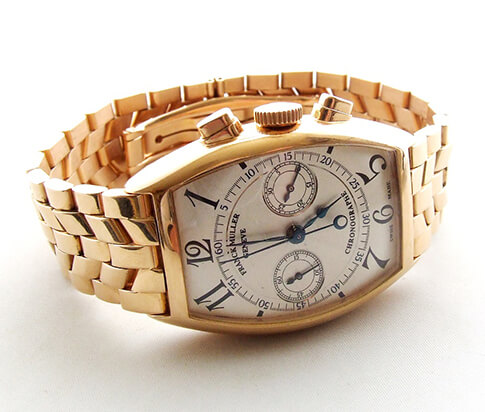 18 karaat gouden Franck Muller horloge