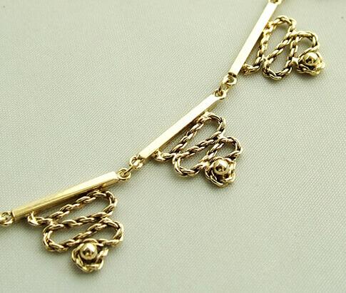 14 karaat gouden collier